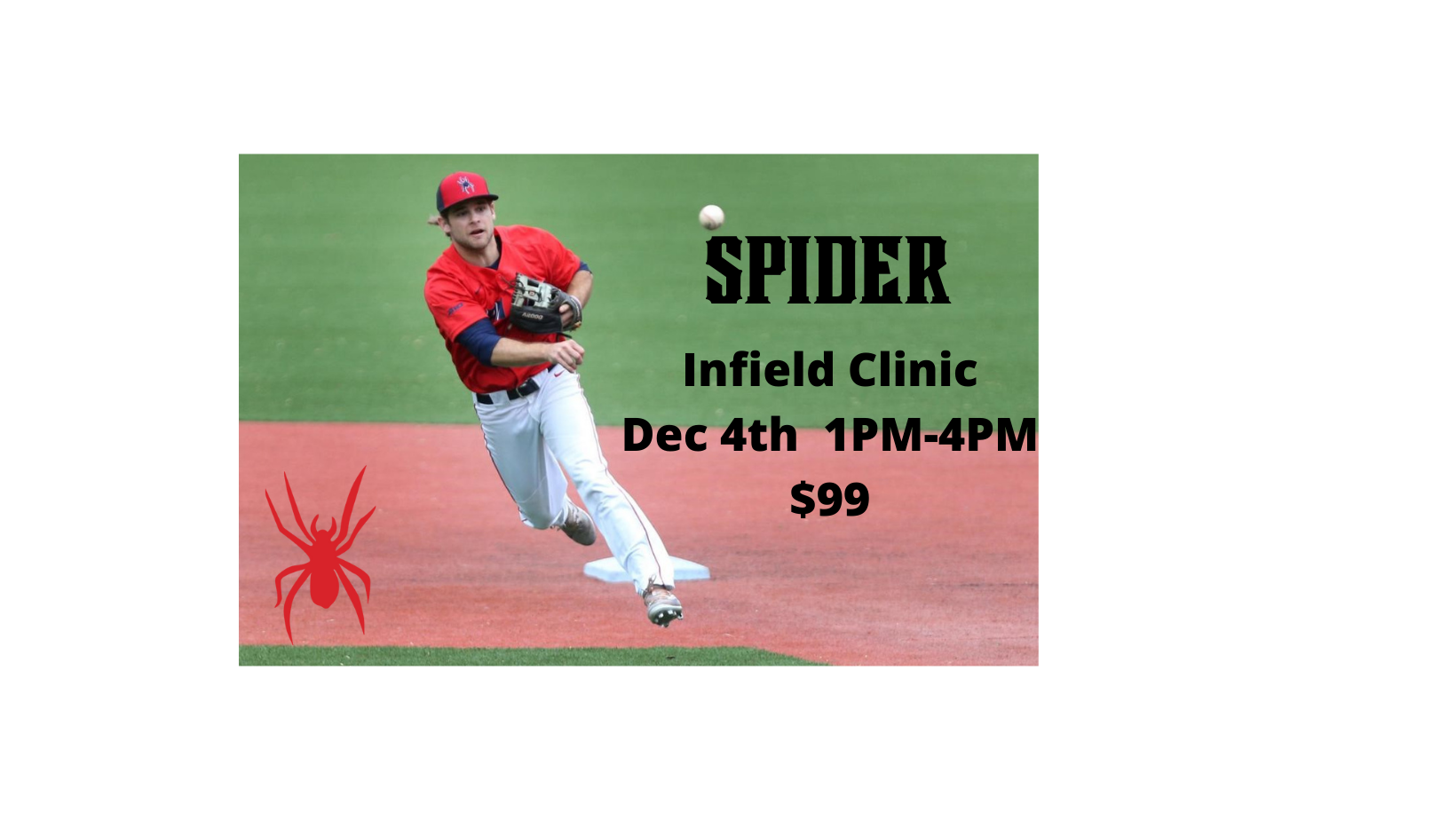 Copy of Spiders Infield Clinic-Facebook