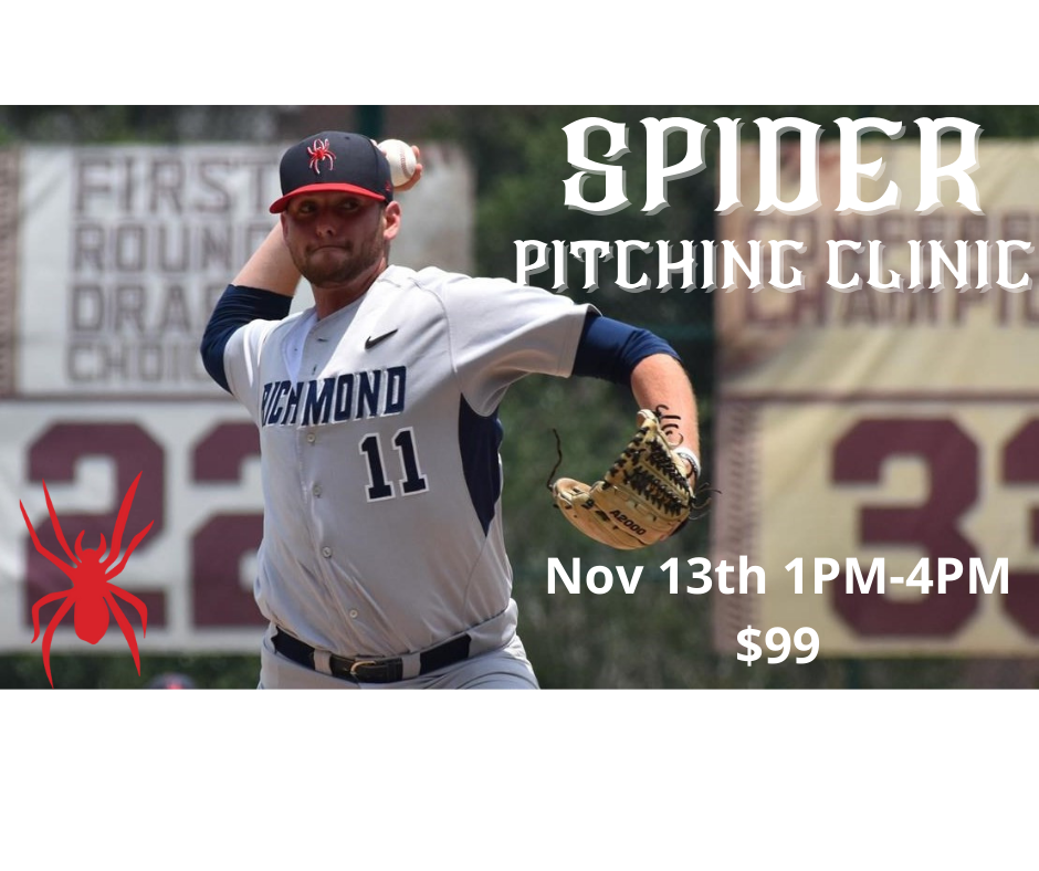 SPIDER pitching clinic FB